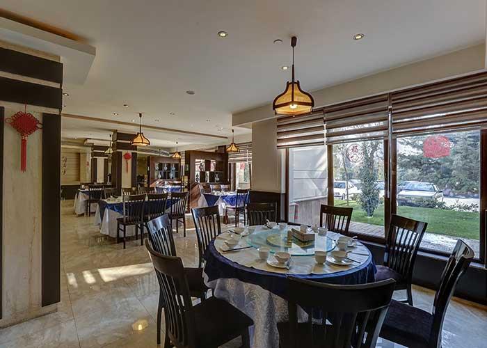 رستوران چینی هتل اوین تهران