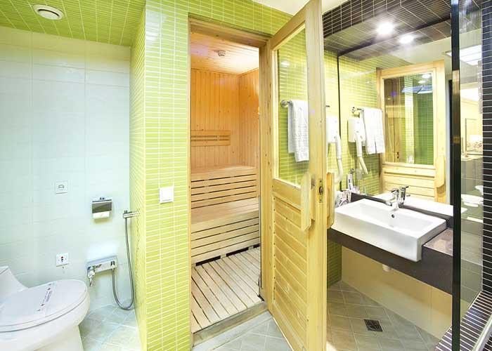 سرویس بهداشتی سوئیت بزرگ هتل اوین تهران