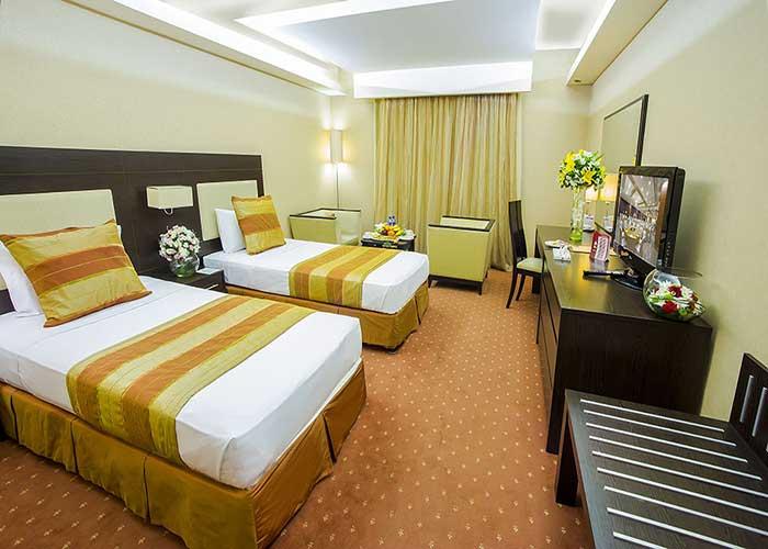 اتاق دو تخته توئین هتل اوین تهران