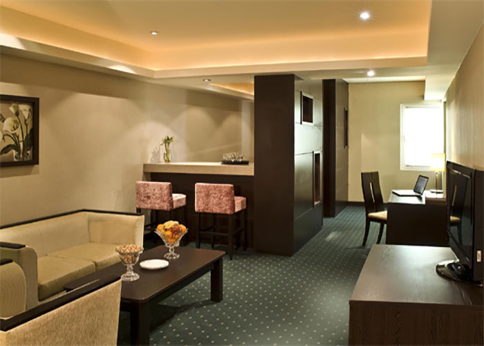 فضای اتاق های هتل اوین تهران