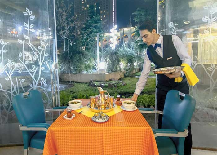آشکده هتل اوین تهران