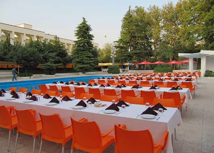 رستوران آبشار هتل اوین تهران