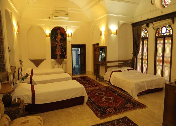اتاق هتل موزه فهادان یزد