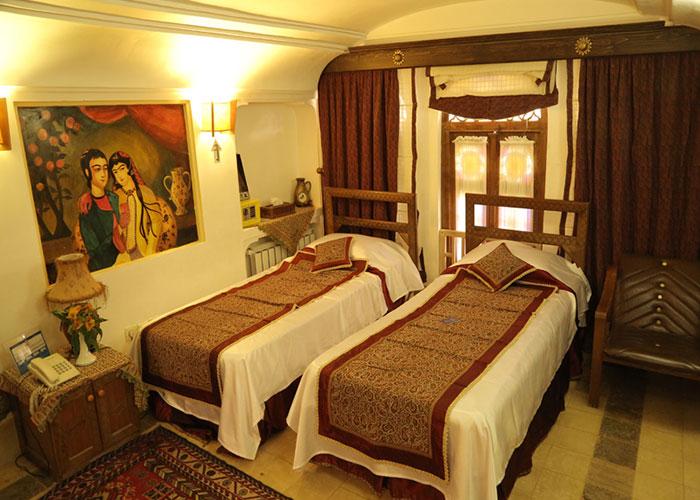 اتاق هتل موزه فهادان