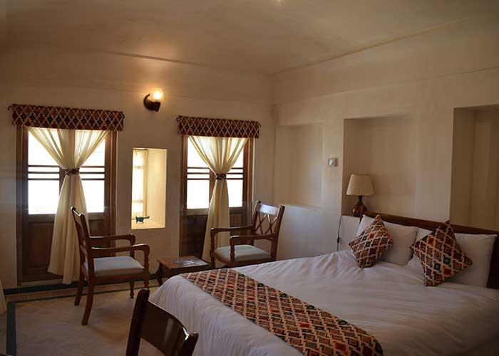 اتاق دو تخته اقامتگاه سنتی فلاحتی