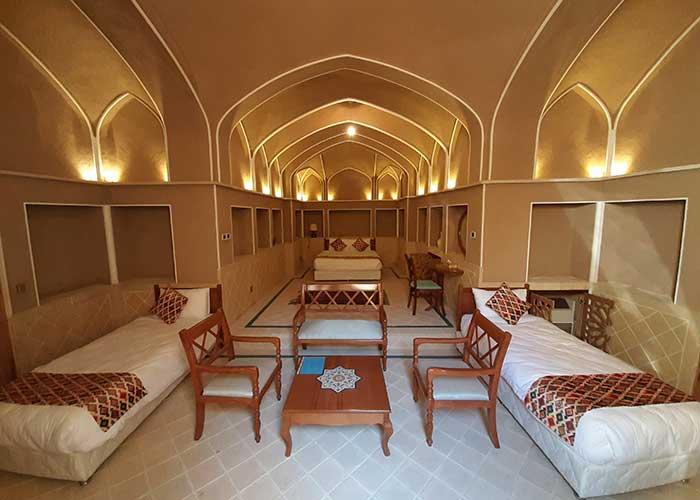 تصاویر اتاق های هتل فلاحتی کاشان