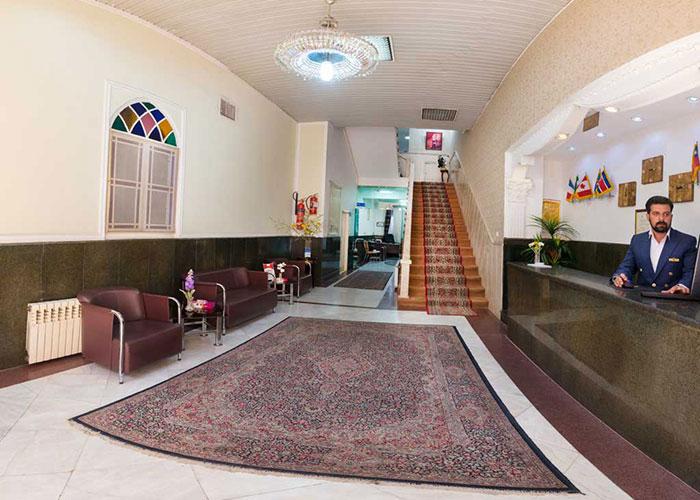 پذیرش هتل فرهنگ یزد