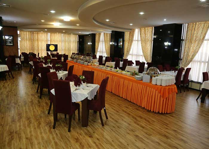 رستوران هتل فرهنگ و هنر مشهد