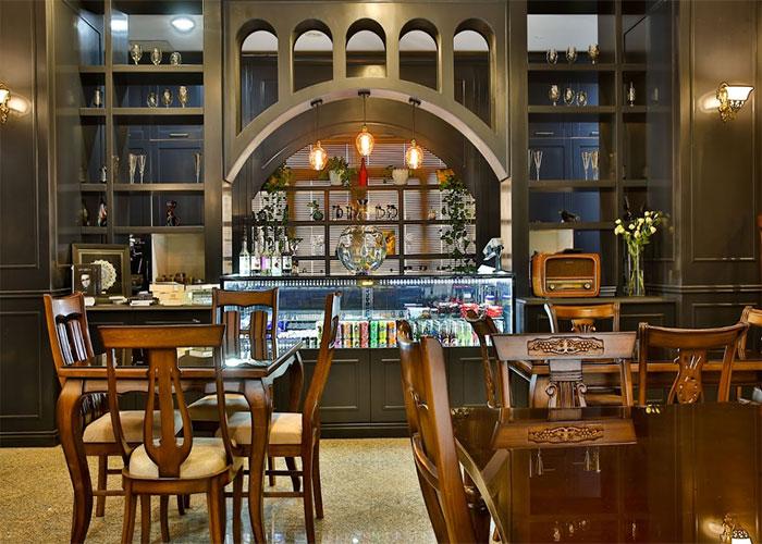 کافی شاپ هتل فرهنگ و هنر مشهد