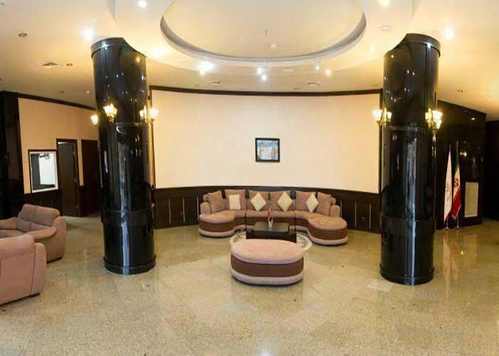 لابی هتل فرهنگ و هنر مشهد