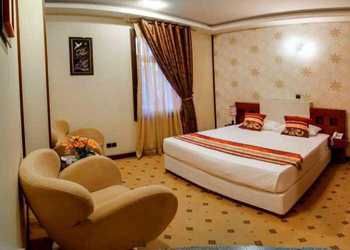 اتاق دو تخته دبل هتل فرهنگ و هنر مشهد