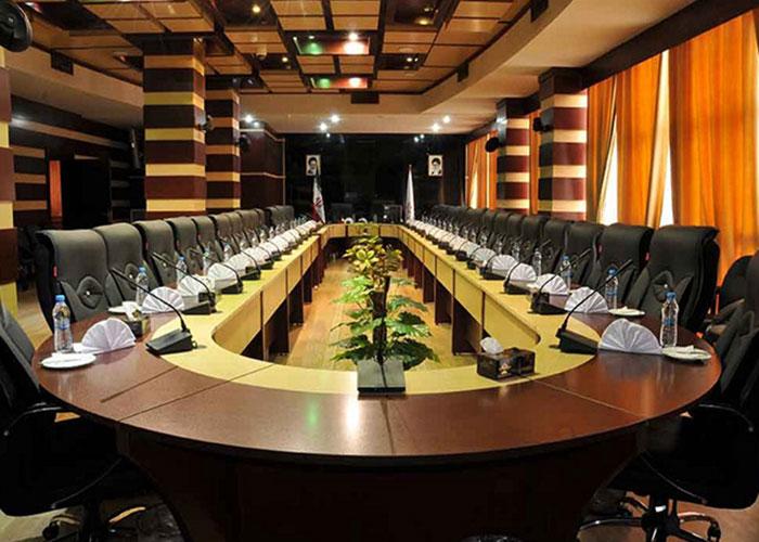 سالن جلسات هتل فرهنگ و هنر مشهد