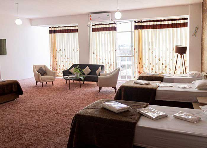 سه تخته هتل فرید تبریز