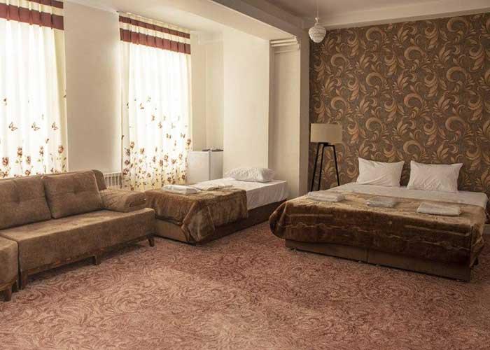 اتاق سه تخته هتل فرید تبریز