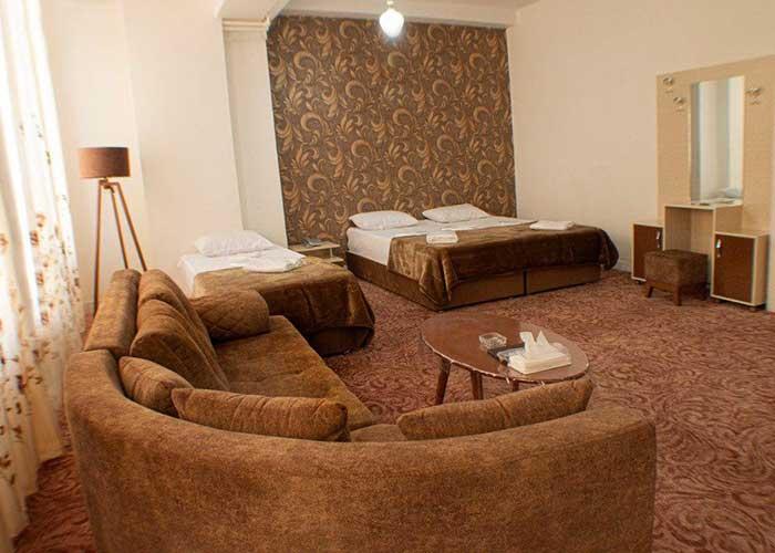 سوئیت سه تخته هتل فرید تبریز