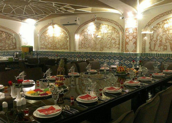 رستوران هتل سنتی فاضلی یزد