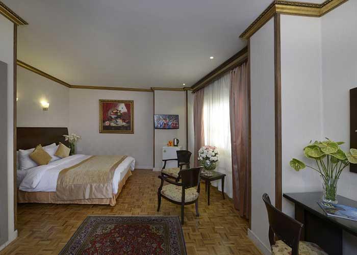 اتاق دو تخته دبل هتل فردوسی تهران