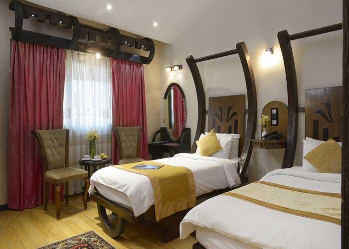 اتاق دو تخته توئین هتل فردوسی تهران