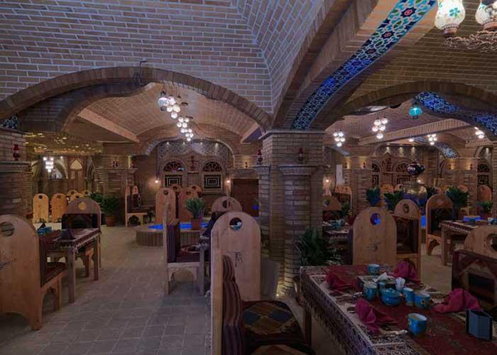 رستوران ترمه هتل فردوسی تهران