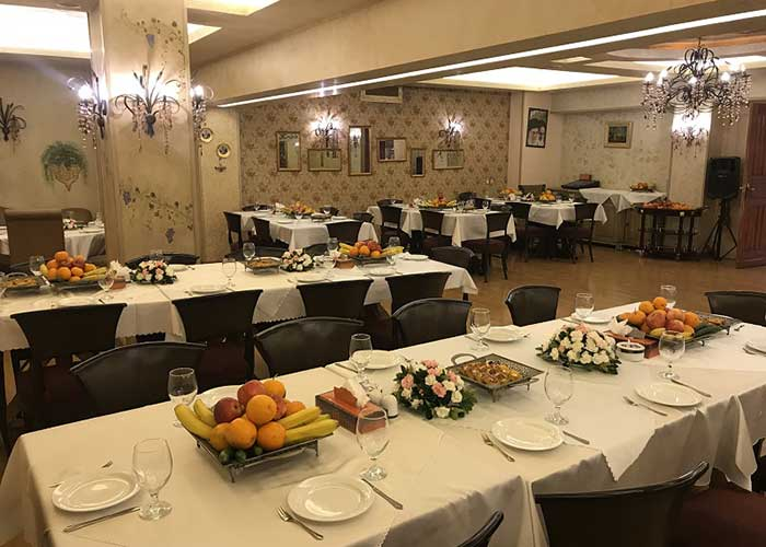 رستوران فرانسوی هتل فردوسی تهران