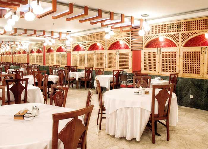 سالن صبحانه خوری هتل فردوسی تهران