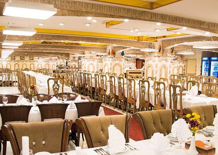 رستوران زیتون هتل فردوسی تهران