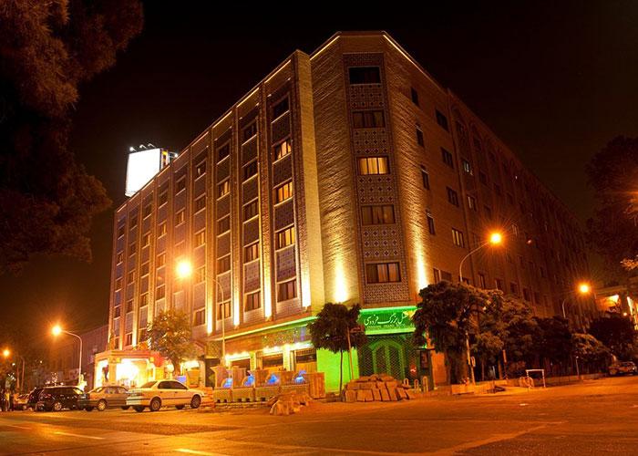ساختمان هتل فردوسی تهران
