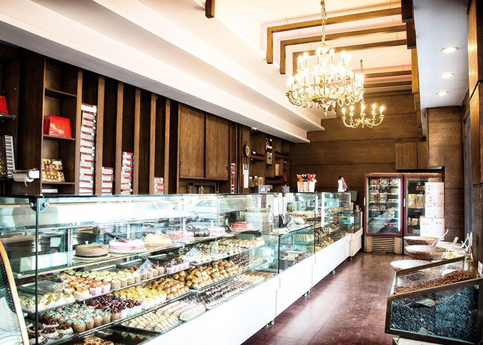 شیرینی فروشی هتل فردوسی تهران