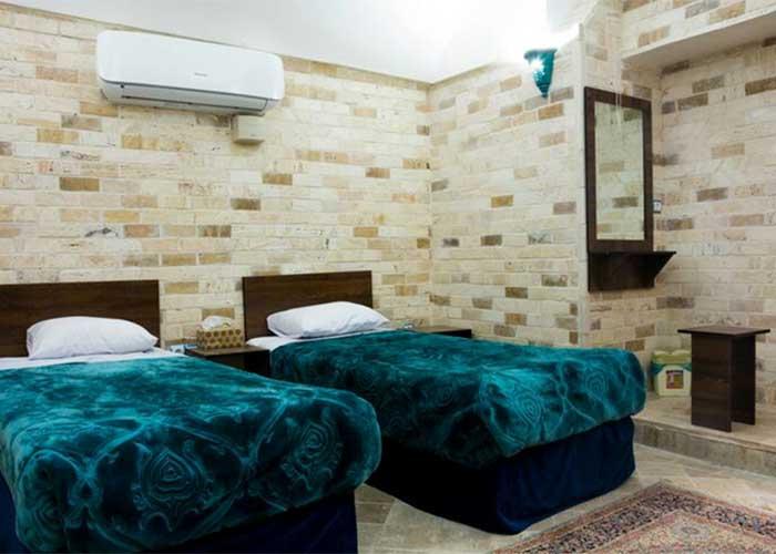 اتاق های هتل سنتی فیروزه یزد