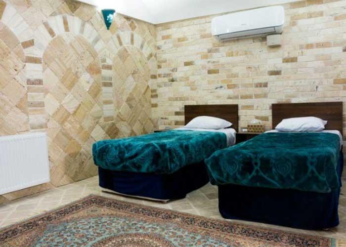 دو تخته هتل سنتی فیروزه یزد