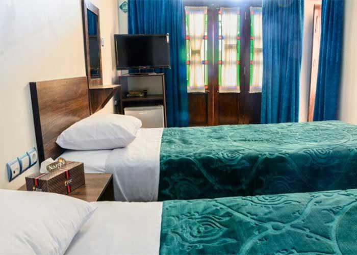 تصاویر اتاق های هتل سنتی فیروزه یزد