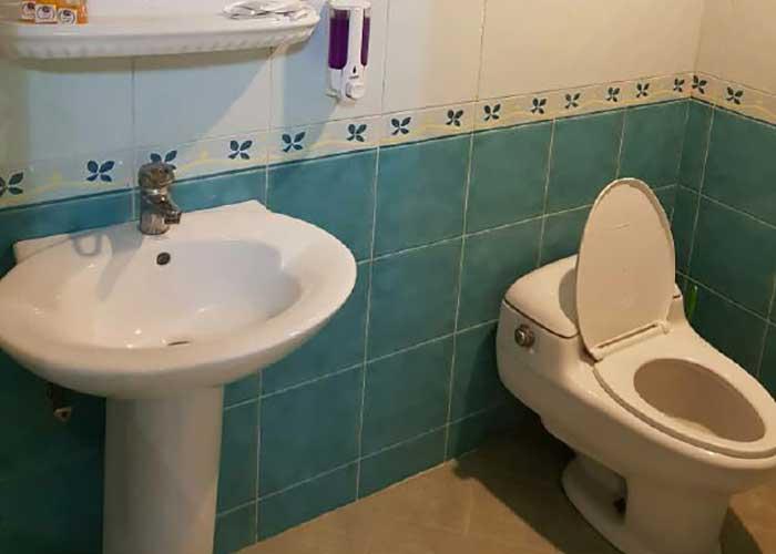 سرویس بهداشتی هتل آپارتمان قصر اصفهان