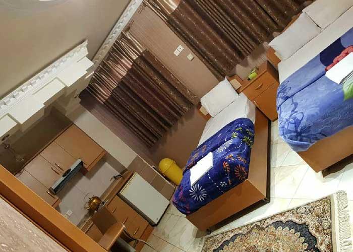 سوئیت یک خوابه هتل آپارتمان قصر اصفهان