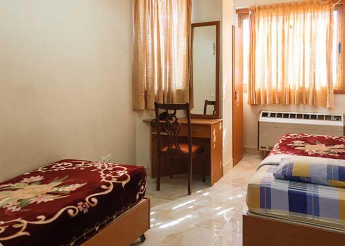 اتاق سه تخته هتل آپارتمان قصر اصفهان