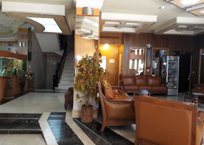 لابی هتل آپارتمان قصر اصفهان