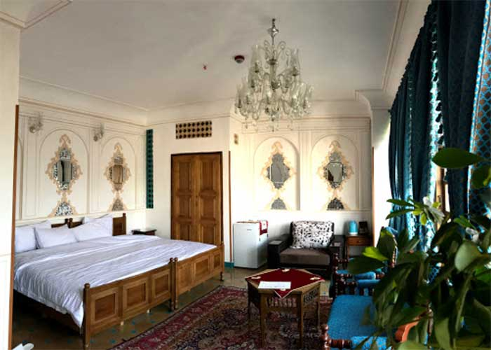 اتاق دو تخته دبل هتل قصر منشی اصفهان