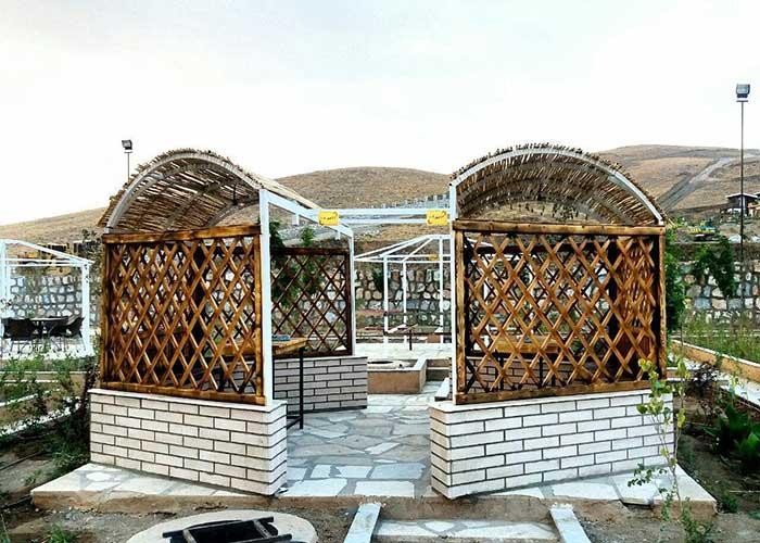 آلاچیق مجتمع اقامتی گلستانکوه خوانسار