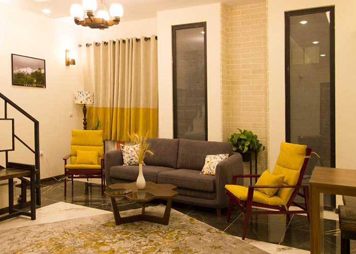 فضای داخلی ویلاهای مجتمع اقامتی گلستانکوه