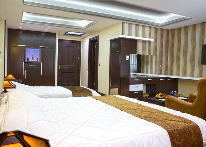 اتاق های هتل گسترش