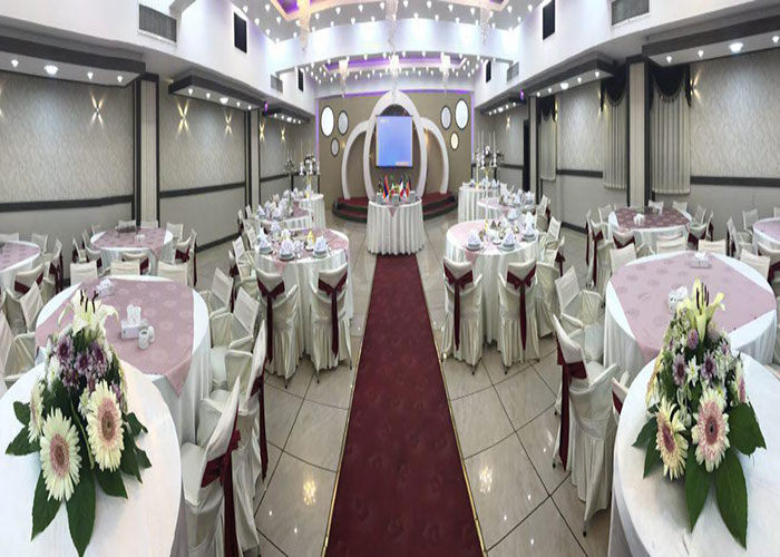 سالن عروسی هتل گسترش