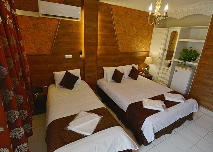 سه تخته هتل حافظ شیراز
