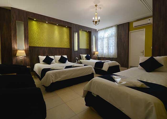 چهار تخته هتل حافظ شیراز