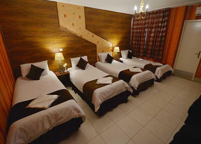 اتاق چهار تخته هتل حافظ شیراز