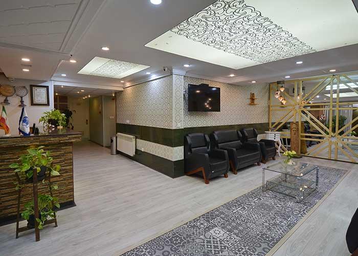 تصاویر پذیرش هتل حافظ شیراز
