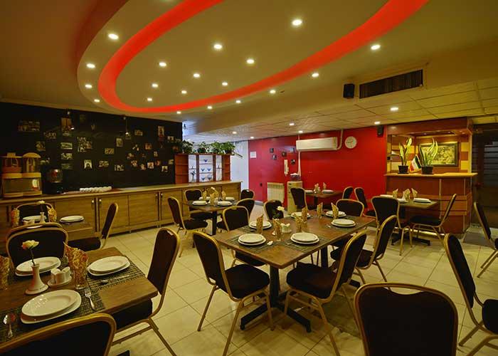 رستوران هتل حافظ شیراز