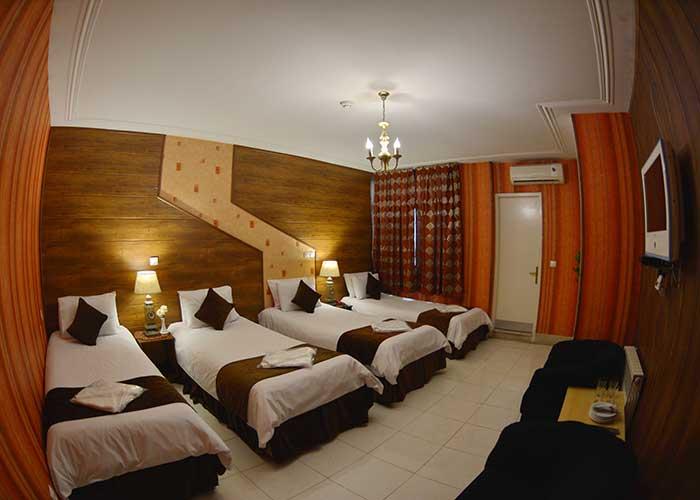 تصاویر اتاق هتل حافظ شیراز
