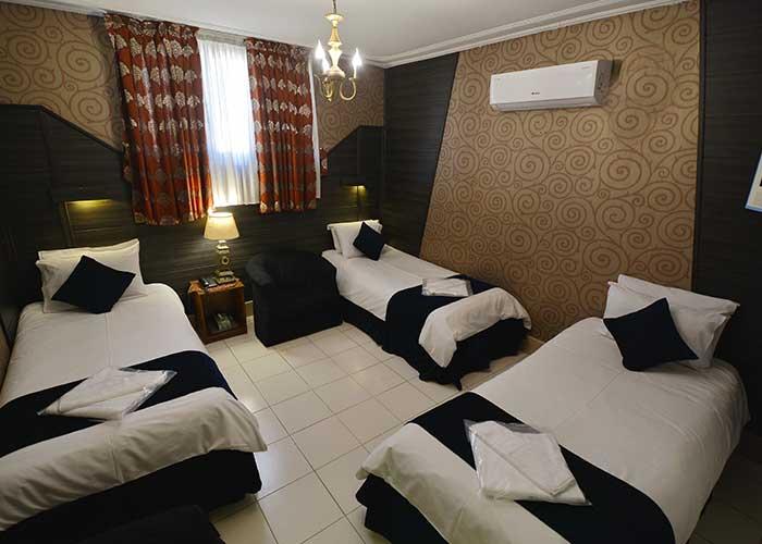 عکس اتاق هتل حافظ شیراز
