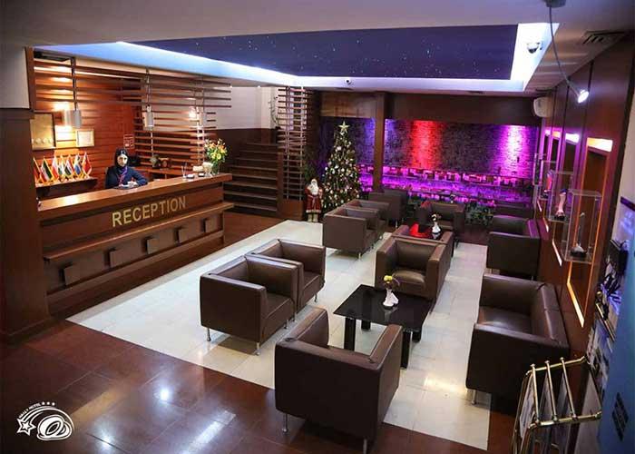 لابی هتل هالی تهران