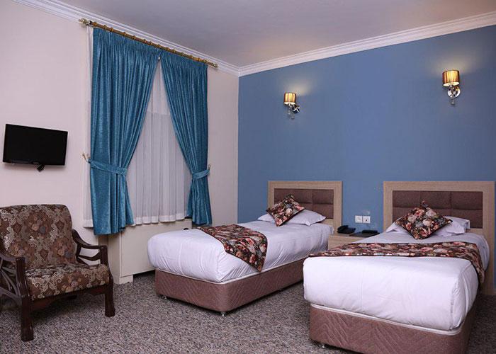 عکس اتاق هتل هالی تهران