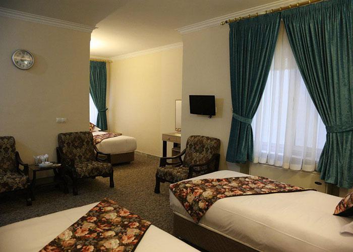 تصاویر اتاق هتل هالی تهران